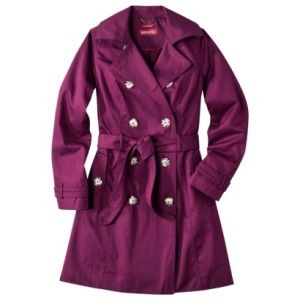 Love this Trench from Target for only $34.98! http://www.target.com/p/merona-water-repellent-classic-trench-coat-assorted-colors/-/A-14028444?ref=tgt_adv_XSG10001&AFID=Google_PLA_df&LNM=|14027791&CPNG=Women&kpid=14027791&LID=PA&ci_src=17588969&ci_sku=14027791
