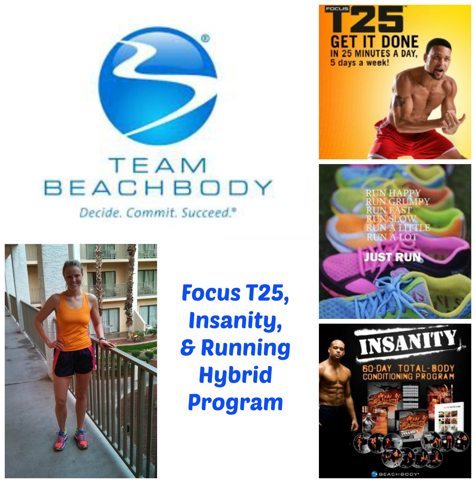 Focus T25, Insanity, & Running Hybrid Program | Debbie's