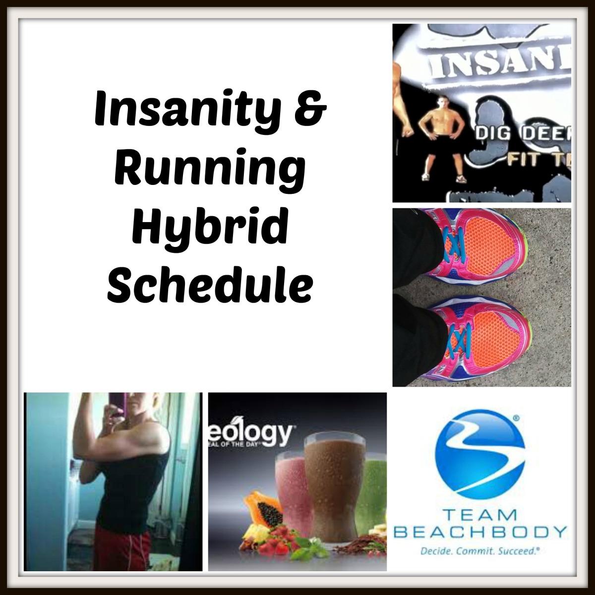 Insanity & Running Hybrid Schedule